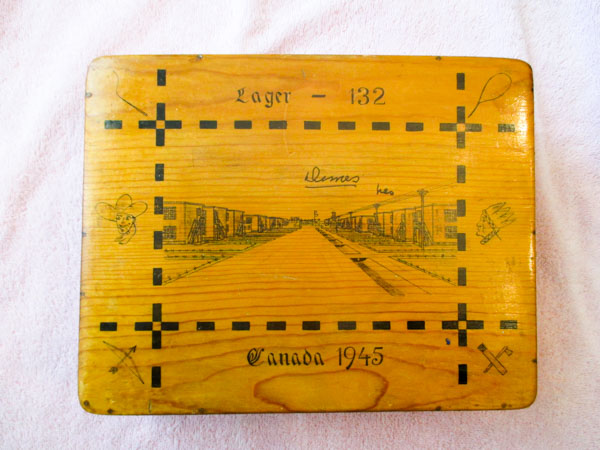 1945 Cartoon Box from Camp 132 Medicine Hat-1