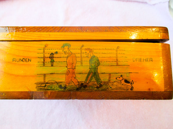 1945 Cartoon Box from Camp 132 Medicine Hat-5
