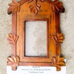 Picture frame from Kananaskis-Seebe by Heinrich PANZ or PENNS – front