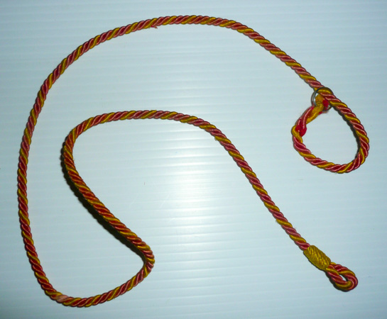 Veteran's Guard of Canada gold lanyard (Henderson Homefront Collection)