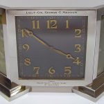 Veteran's Guard of Canada presentation clock (Henderson Homefront Collection)